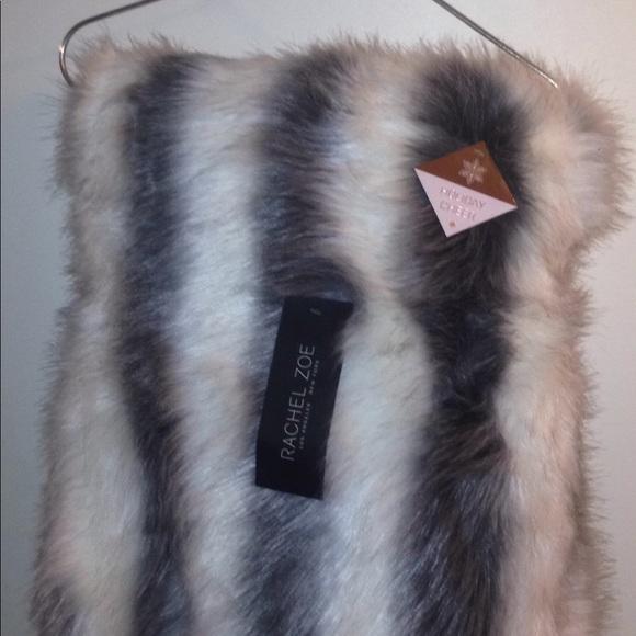 Rachel Zoe Other - RACHEL ZOE Faux fur throw blanket